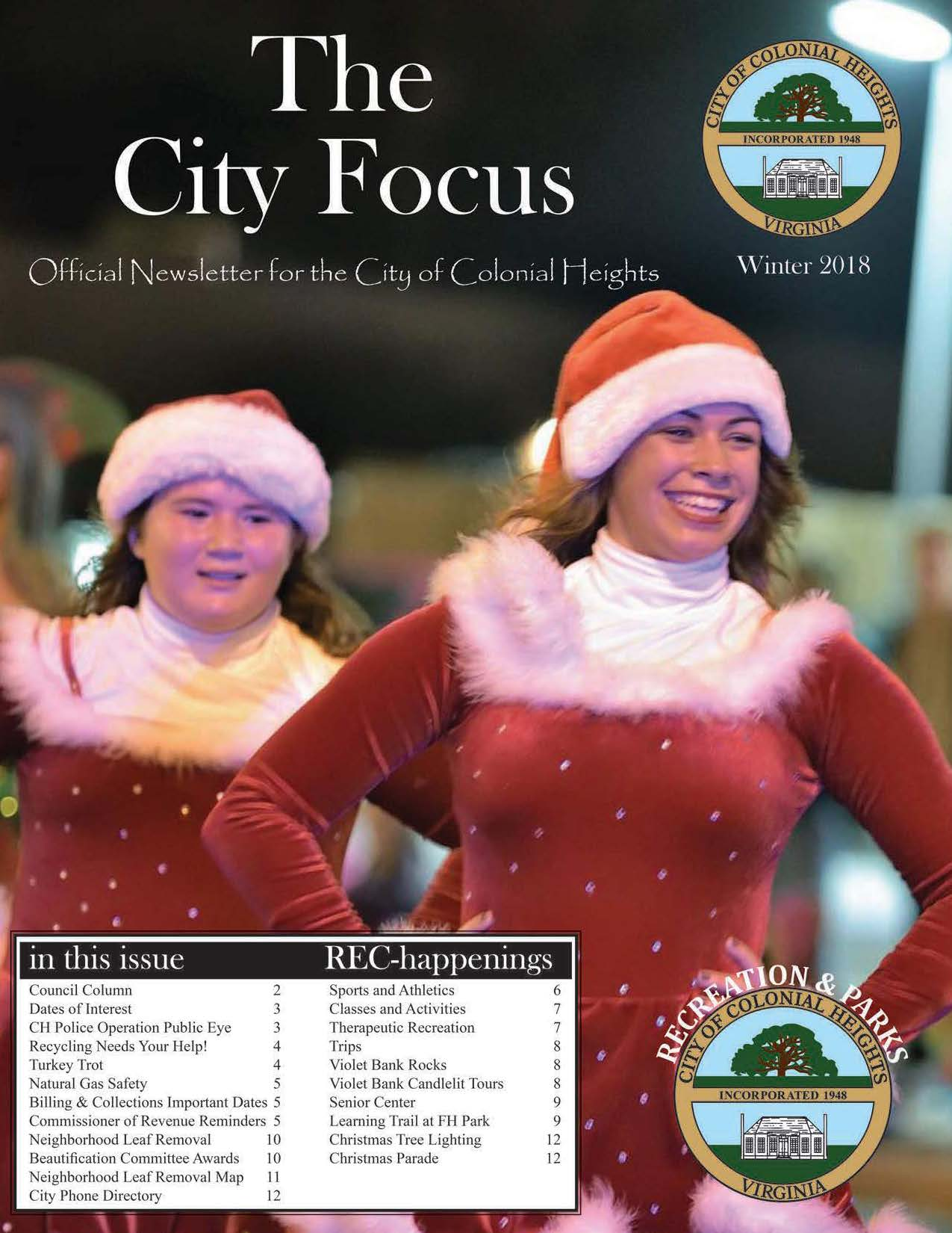 City Focus - Winter 2018 - cover page