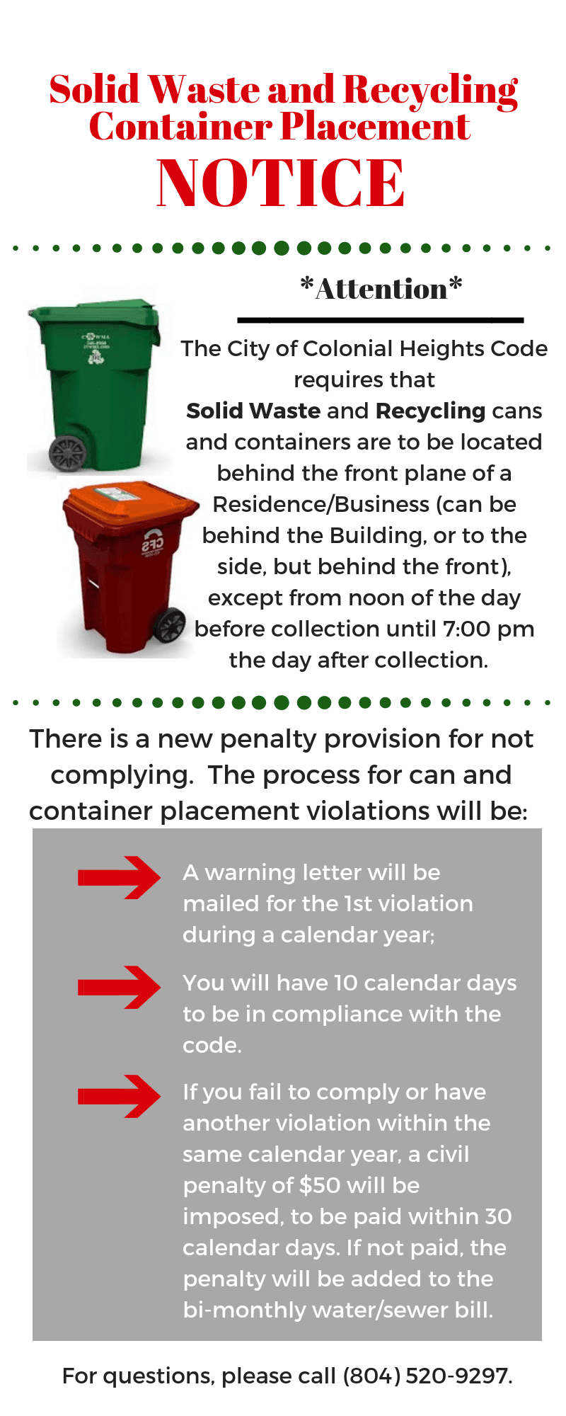 Waste Container Removal Notice - 2019 - City Focus Spring Release