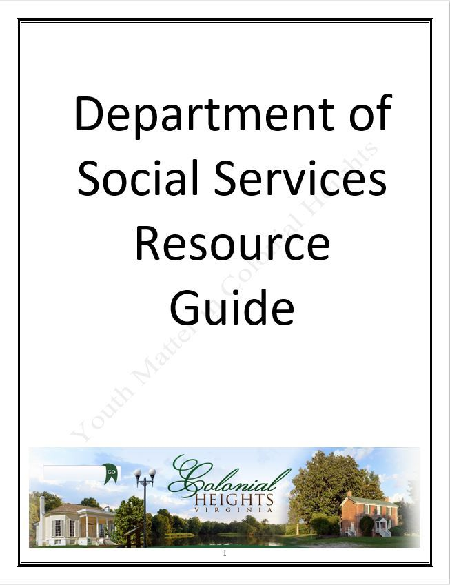 Dept Social Services Guide