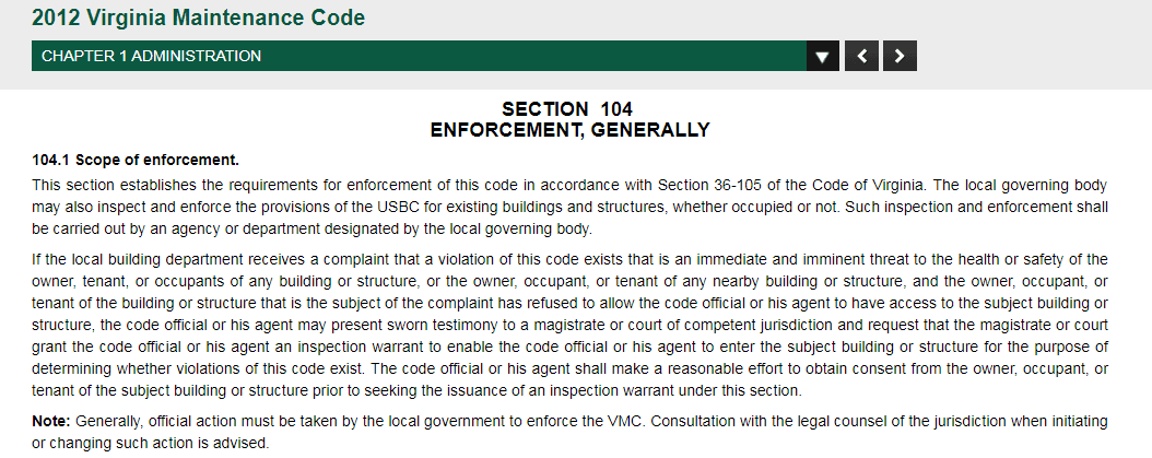 Section104-MaintenanceCode